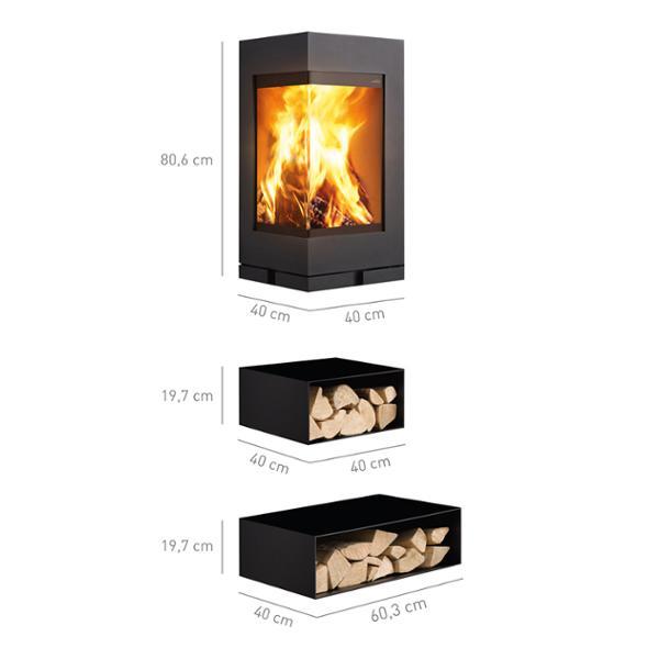 elements eck brennkammer feststehend. Black Bedroom Furniture Sets. Home Design Ideas